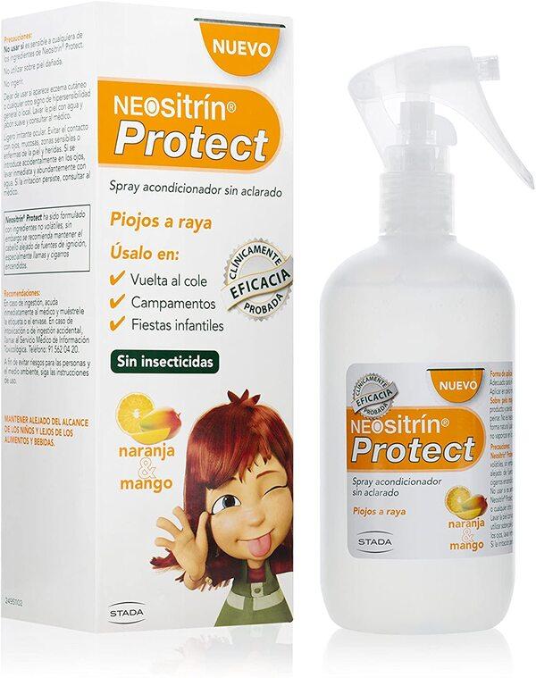 Neositrin Protect Spray Acondicionador sin aclarado que repele los piojos