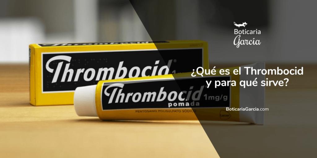 ¿Qué es el Thrombocid y para qué sirve?