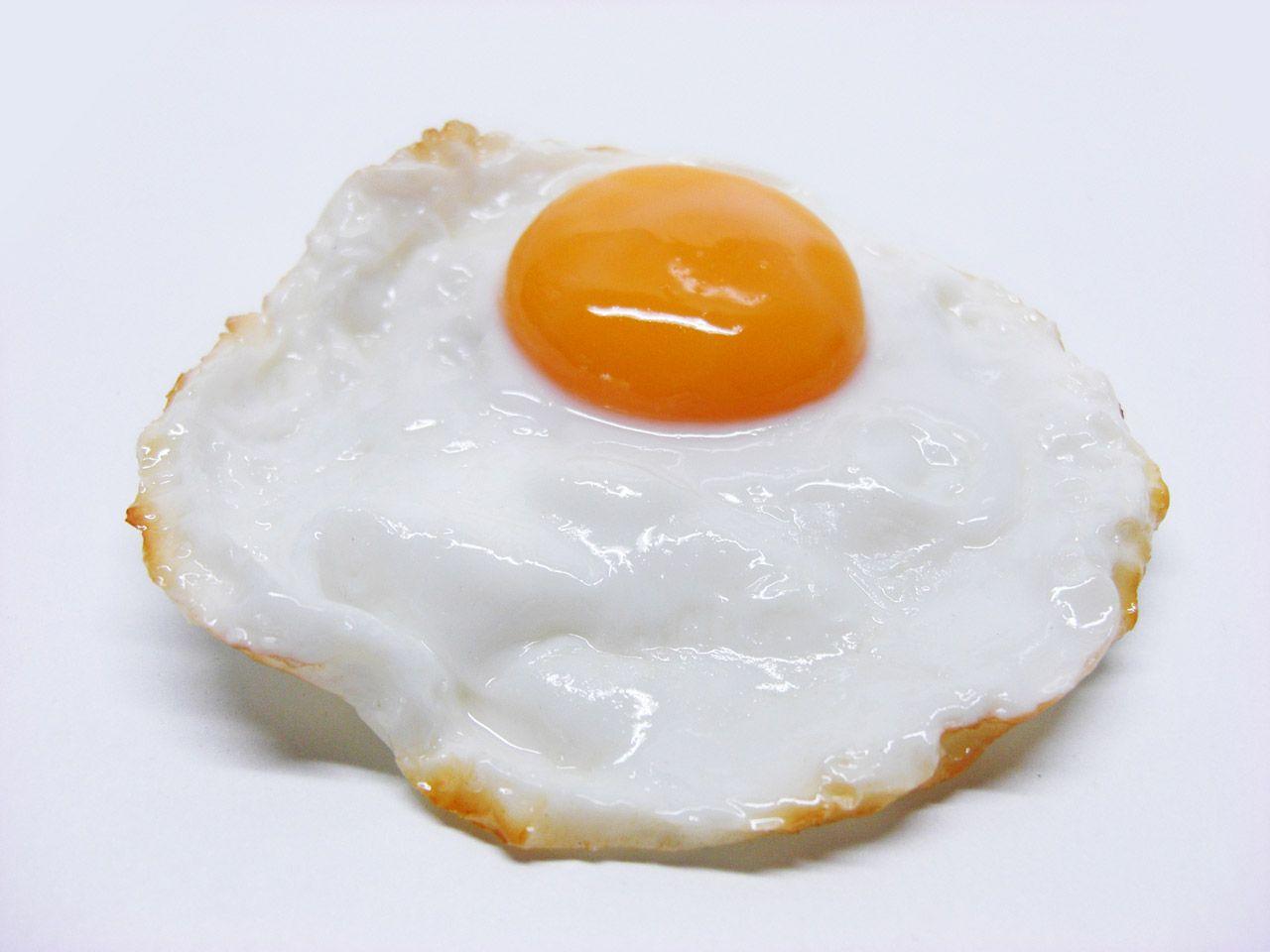 huevo frito congelado