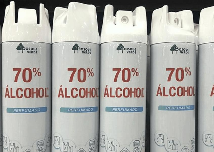 ¿El spray desinfectante de Mercadona es efectivo contra el coronavirus?