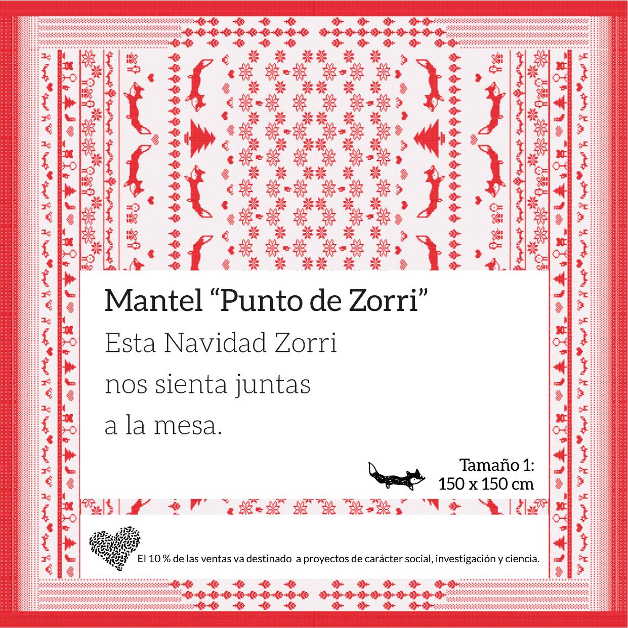 mantel navideño Boticaria García
