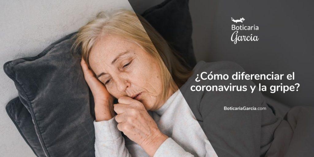 Gripe y coronavirus: diferencias
