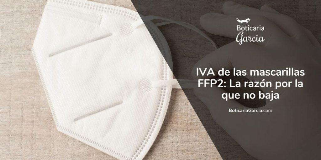 IVA de las mascarillas FFP2