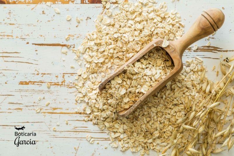 La avena es un rico muy alimento en fibra