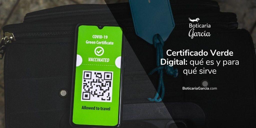 Certificado Verde Digital