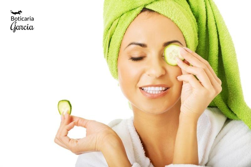 Propiedades cosméticas del pepino